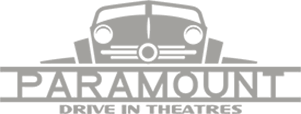Paramount Drive In Theatres Logo